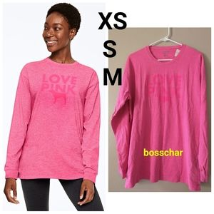 VS PINK Campus Tee XS X M READ!